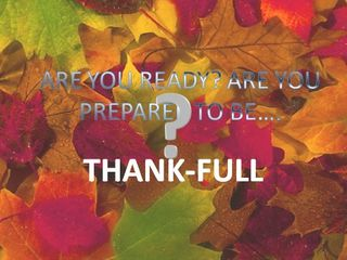 Thanksgivingopen